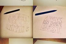 Schrijven en tekenen