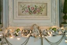How to decorate a mantel / by Stevie Larson