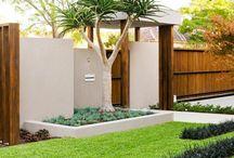 zahrada a terasa