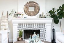 Tiled Fireplaces / Fireplace tile inspiration for your next big project.