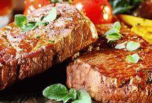 Como temperar diversas carnes