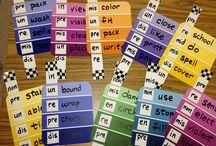 Prefixes and Suffixes / by Alexis Douglas