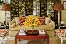Chinoiserie Folding Screens / by PagodaRoad