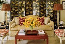 Chinoiserie Folding Screens / by PagodaRoad