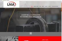 Nuovo Sito LMA / Sito web per LMA, azienda dell'industria meccanica che si occupa di costruzione e assemblaggio macchinari. Protocol cura l'immagine aziendale e la comunicazione digitale