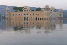 Jal Mahal Water Palace / For nearly 300 years the iconic image of the Jal Mahal Water Palace rising in majestic splendor from the waters of Man Sagar Lake has greeted visitors to Jaipur. After years of intensive restoration executed by more than two hundred master artists, stone and wood carvers, mirror workers, painters and metal masters, this remarkable monument is scheduled to open in the summer of 2014.