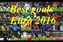 Euro 2016 best goals / Top Best goals Euro 2016  Griezmann, Gareth Bale, Ronaldo, Modric, Nainggolan, Payet, Hamsik,  Shaquiri.  Best Goalkeeper Saves of Euro 2016 France #Euro2016,#Goals, #FootballPlayer