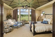 Dream Master Suite Floor Plans / These dream master suite floor plans are luxurious retreats that will give you great ideas for bedroom color schemes, bedroom decorating, furniture layout, and more.
