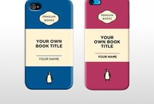 Book lover IPhone covers / Some of our favorite iPhone covers.