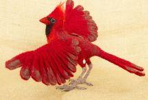 Валяние-птицы