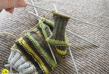 Sukkamalleja / Erilaisia sukkiin liittyviä asioita