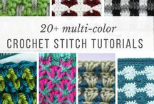 multicoloured crochet