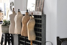 Inspiration {My Sewing Space} / by Johnna Hamilton