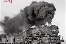 Trains, rails, depots  / by Karen McGillivray