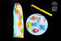 Lúdica Mente / Brinquedos/jogos em feltro lúdicos e coloridos