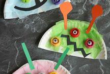 manualitats amb plats plàstic / manualitats amb plats de plàstic o cartró, animals amb plats de plàstic, manualitats creatives amb plats, caretes amb plats de plàstic...