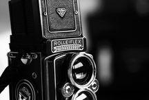 retro slr cameras