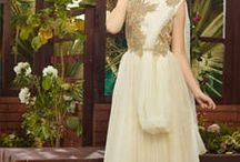 Beautiful Party Wear Gowns / Shop now - http://bit.ly/1XDKbPv