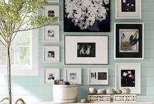 Walls: inspiring photo displays / by ClickinMoms