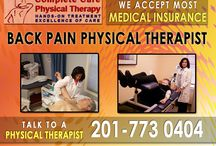 Back Pain Physical Therapy in Bergen County, NJ / We will assist you back to pain-free living. We believe that our specialized back pain physical therapy treatments give our patient's greater success rates within our caring atmosphere. When visiting us for physical therapy, we provide more individualized time with each patient to establish a caring, therapeutic atmosphere focused on your recovery. For more information about back pain physical therapy in Bergen County, NJ, call us at (201) 773-0404.