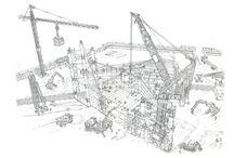 budowa futurystycznego wieżowca