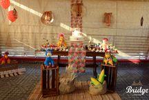 Festas Infantis Temáticas / Para os pequenos cheios de estilo e personalidade