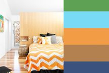 Colour matching / Styling a bedroom is easy. Just choose some colors and go with it. Here is some inspiration.