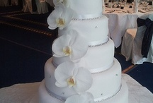 Cakes with Orchids