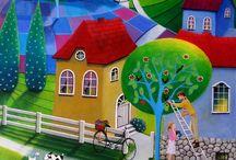 Paintings - Iwona