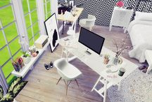 The Sims 4 office stuff