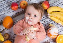 A la mesa, pequeña / Alimentación infantil