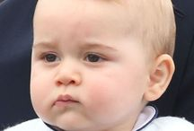 Prince George and Kate / by Katie Balok