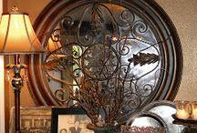 Specchi e piatti da muro