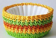 Crochet Baskets/Boxes/Bowls