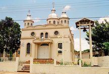 Ukrainian churches - Igrejas ucranianas no Paraná - Brasil