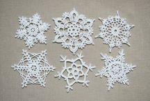 Crochet Patterns- Snowflakes / by Ann Leete