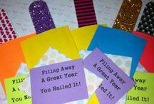 Teacher appreciation week ideas / by Lindsay Hinshaw