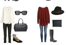 Travel Outfits (Winter)