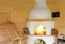 Fireplace / cosy and warm