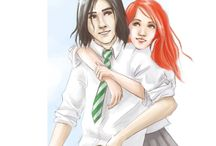 Severus and Lily <3 / A collection of pins about my favourite HP couple, Severus Snape and Lily Evans! The title describes their awesome Patronuses.