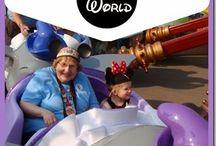 Disney / Disney world and Shades of Green Resort / by Laura Bradley
