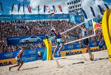 Beach Major Volleyball Series / Congratulations to local heroes Nick Lucena and Phil Dalhuasser and Brazilians Barbara Seixas and Fernanda Berti Alves! The two teams saw off all challengers to become our first Beach Volleyball Major Series champions of 2018! https://us.beachmajorseries.com/