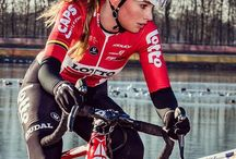 Cyclist girl
