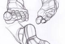 Ноги руки рисунок