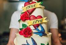 Mariage rockabilly 50's / décoration mariage vintage, mariage 50's, wedding, vintage wedding, rock wedding