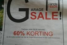 Adverts Van de Reepe Schoenmode / Advertentiemateriaal