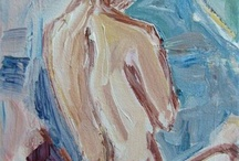 Figurative works on my easel