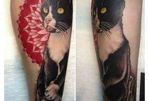 Tattoo  / Cat tat / by Marianne Satinsky