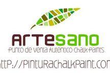Muebles : pintura a la tiza / Rehabilitación de muebles