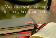 Marriage Devotionals / Looking for devotional ideas for couples? Here are some marriage devotionals for you and your spouse. Marriage bible verses and married devotionals.
